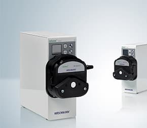 Extension of rotarus® pump family (peristaltic pumps)