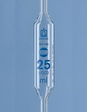 Bulb pipettes, BLAUBRAND®, ISO or USP